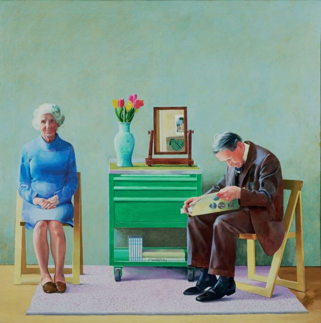David Hockney - My parents 1977 Tate Britain Museum